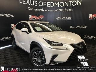 New 2018 Lexus NX 300 Luxury Package for sale in Edmonton, AB