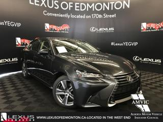 New 2018 Lexus GS 350 Premium Package for sale in Edmonton, AB
