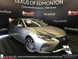 Used 2017 Lexus ES 300 h DEMO UNIT - TOURING PACKAGE for sale in Edmonton, AB