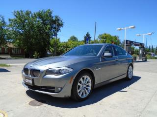 Used 2013 BMW 5 Series 528i xDrive for sale in King City, ON