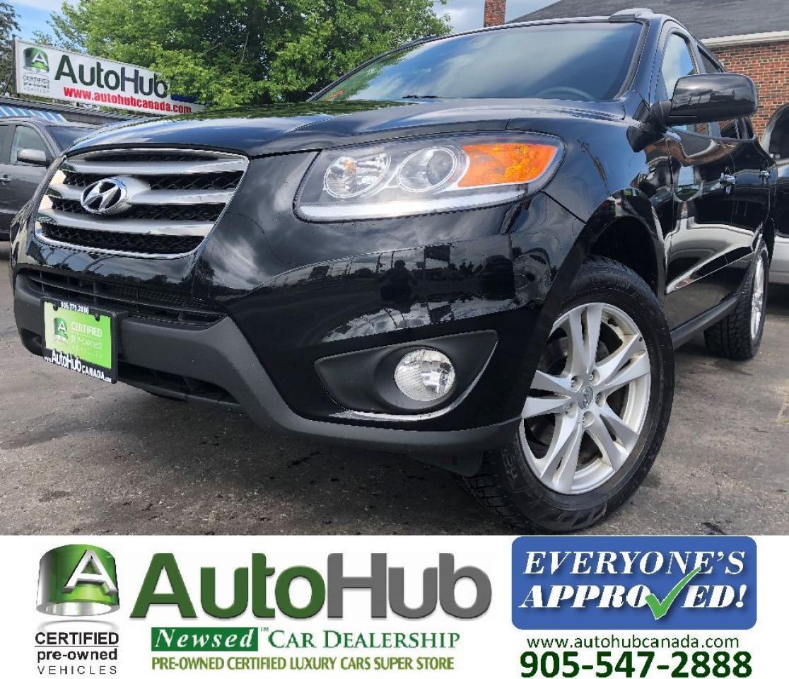 2012 Hyundai Santa Fe LIMITED-LEATHER-SUNROOF-NAV-BACKUP CAMERA-AWD