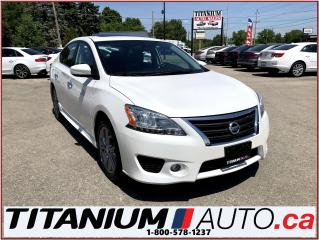 Used 2014 Nissan Sentra SR+Camera+GPS+Sunroof+Heated Seats+Fog Lights+XM++ for sale in London, ON