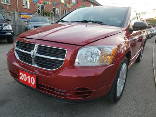 Used 2010 Dodge Caliber LOW KMs Only 66K/Heated Seat/AUX Input/Power Group for sale in Scarborough, ON