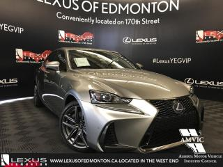 New 2018 Lexus IS 300 F SPORT SERIES 2 for sale in Edmonton, AB
