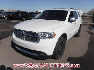 Used 2012 Dodge DURANGO CITADEL 4D UTILITY AWD 7PASS 5.7L for sale in Calgary, AB