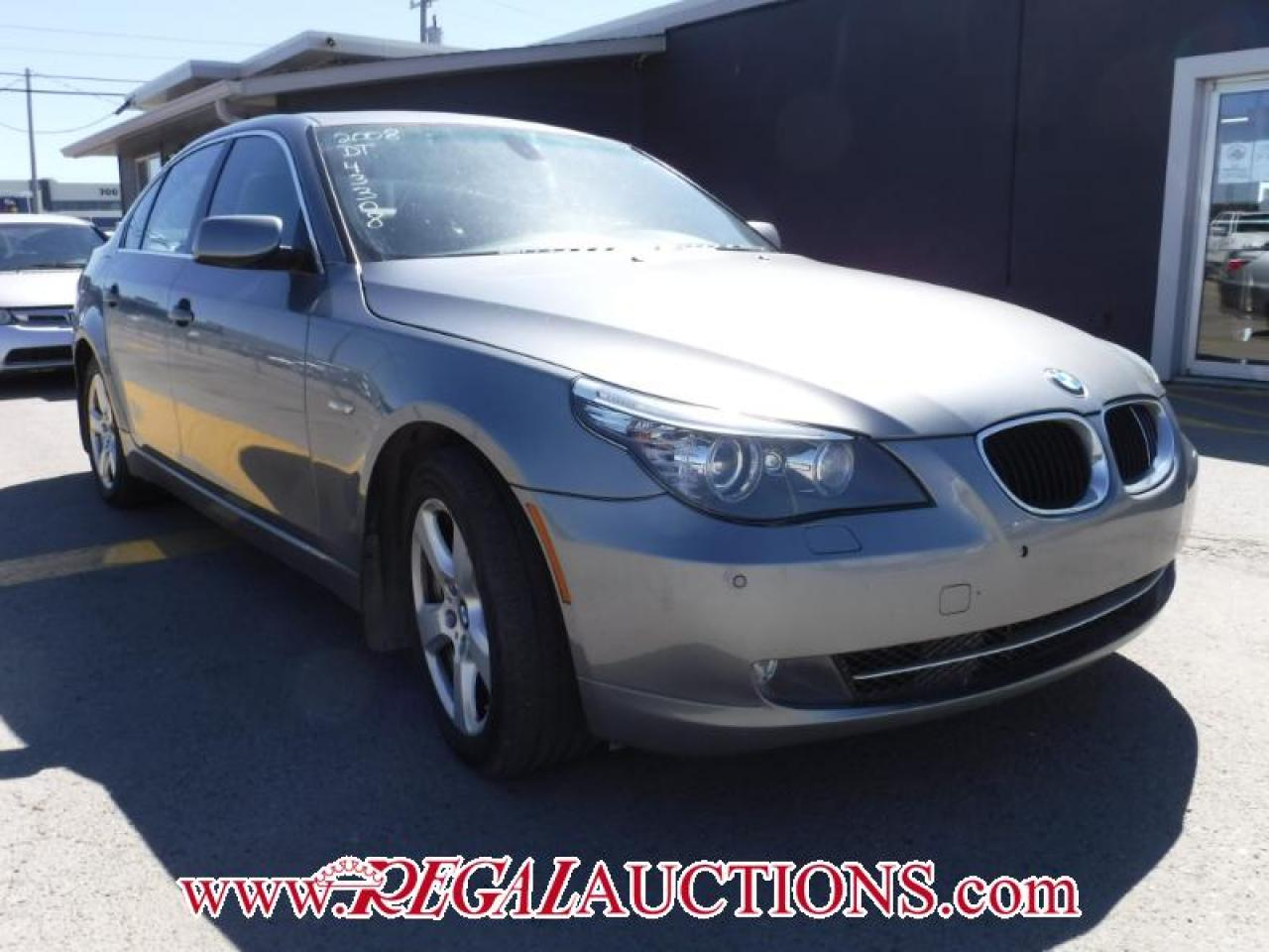 Photo of Grey 2008 BMW 5 SERIES 535XI 4D SEDAN AWD