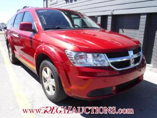 Used 2009 Dodge JOURNEY SXT 4D UTILITY 2WD for sale in Calgary, AB