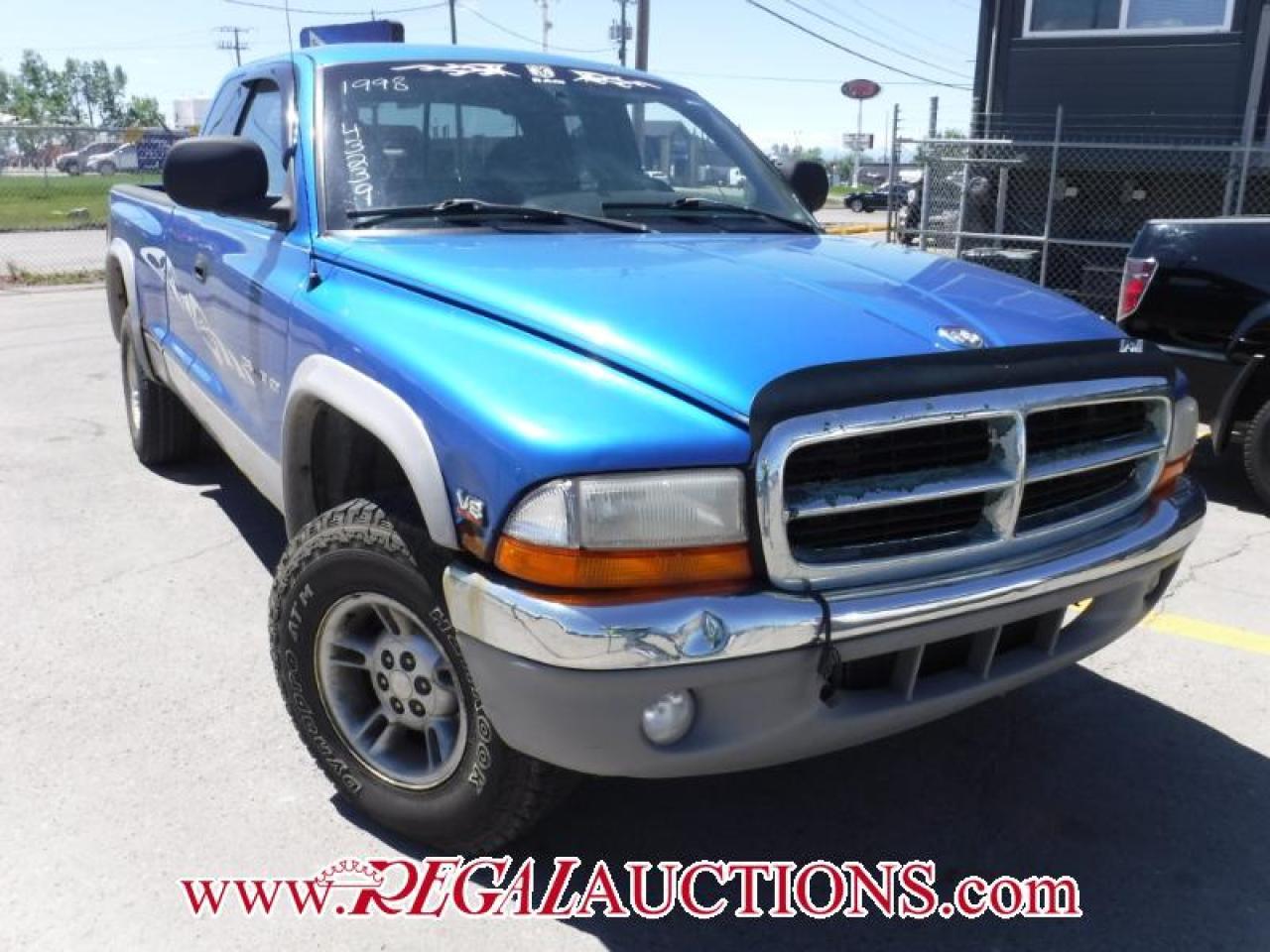 Photo of Blue 1998 Dodge DAKOTA  CLUB CAB
