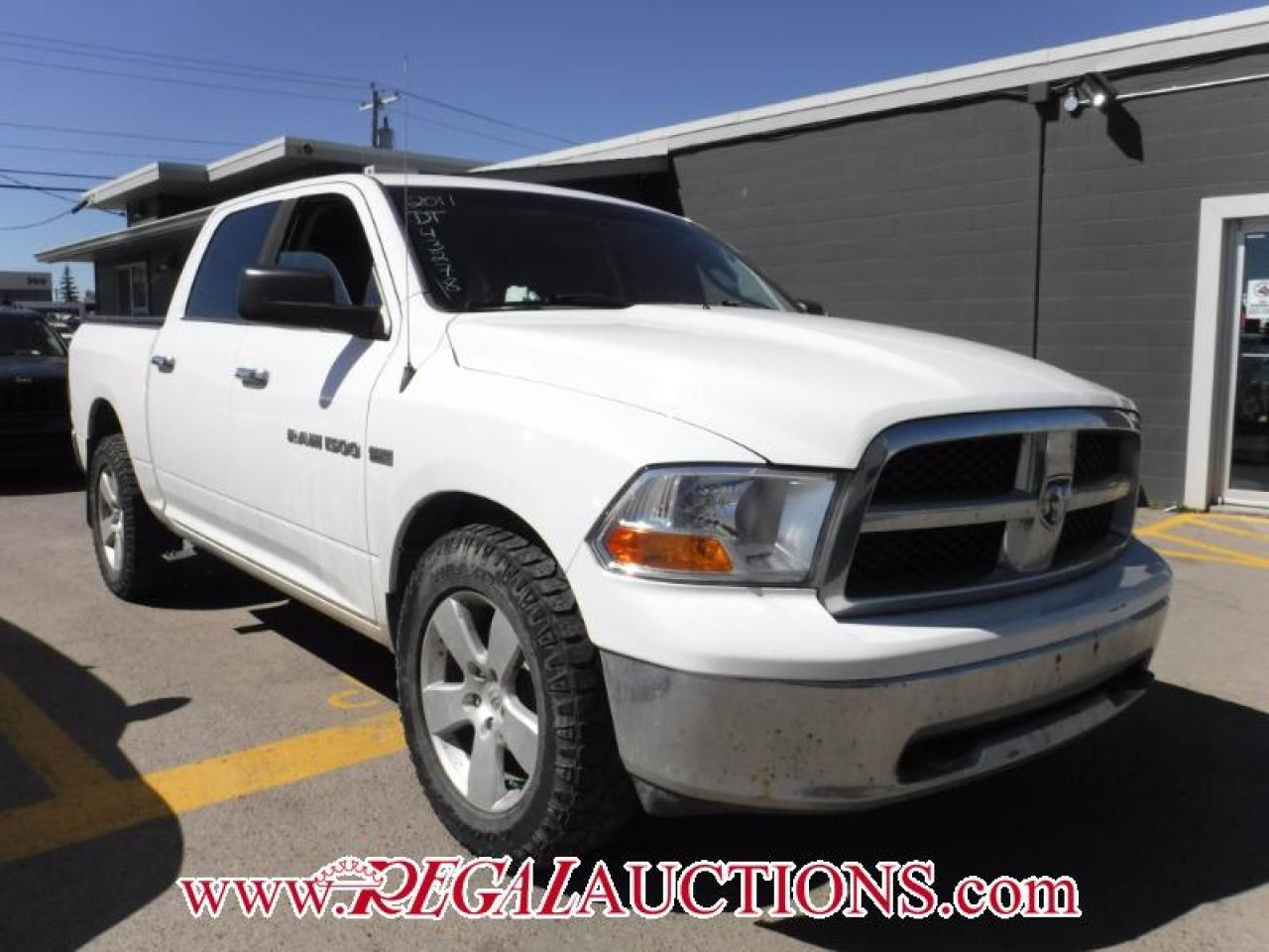 Photo of White 2011 Dodge RAM 1500 SLT CREW CAB 4WD