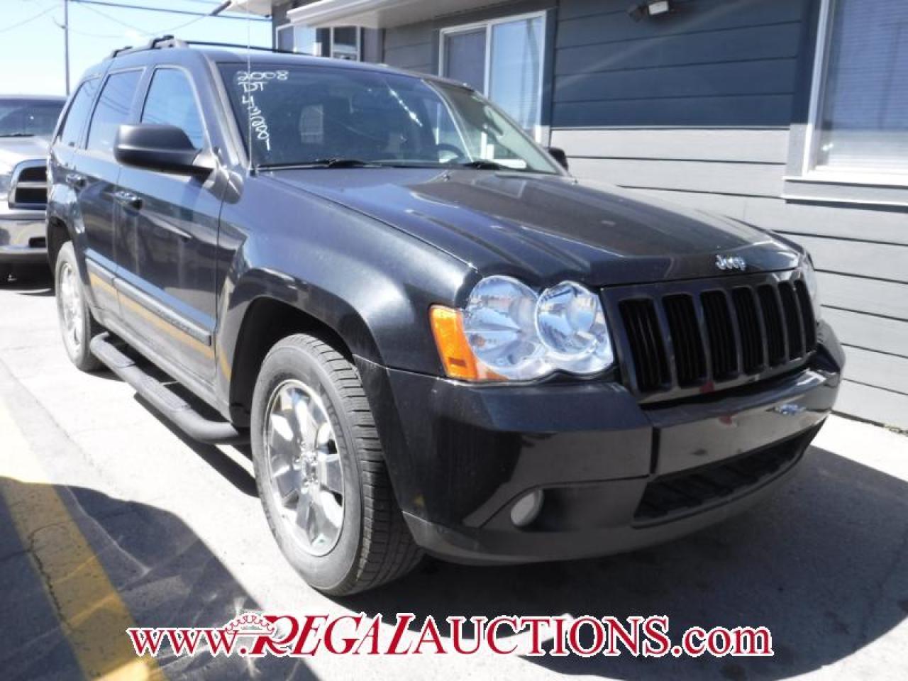 Photo of Black 2008 Jeep Grand Cherokee
