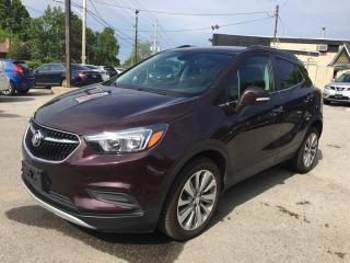 Used 2017 Buick ENCORE LEATHER/CLOTH * REAR CAM * BLUETOOTH * VOICE COMMAND * LOW KM for sale in London, ON