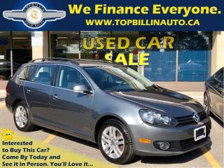 Used 2011 Volkswagen Golf 2.0 TDI Wagon Comfortline, Sunroof for sale in Concord, ON