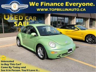 Used 2003 Volkswagen New Beetle GLS Automatic, Safety Included for sale in Concord, ON