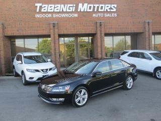 Used 2012 Volkswagen Passat HIGHLINE | NO ACCIDENT | NAVIGATION | LEATHER | SUNROOF for sale in Mississauga, ON