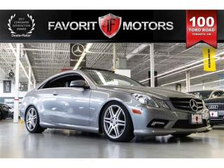 Used 2011 Mercedes-Benz E-Class E550 , Panoramic Sunroof, Navigation, Leather for sale in North York, ON