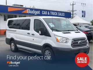 Used 2016 Ford Transit Passenger Wagon 8 Passenger, Fully Serviced, Bluetooth for sale in Vancouver, BC