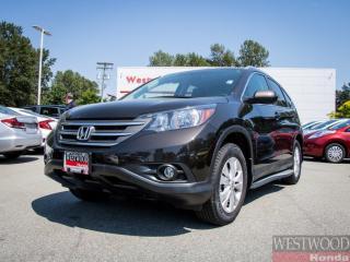 Used 2014 Honda CR-V EX-L - Certified Superior Warranty til 2021 for sale in Port Moody, BC