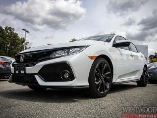 Used 2018 Honda Civic Sport w/Honda Sensing - Certified til 2024 for sale in Port Moody, BC