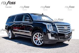 Used 2016 Cadillac Escalade ESV Platinum Dvd Nav Driver Aware Pkg Surround Vision for sale in Thornhill, ON