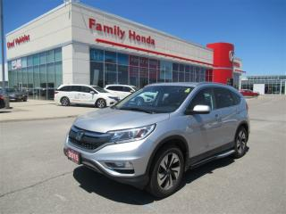 Used 2015 Honda CR-V Touring, FULLY LOADED! GREAT VALUE for sale in Brampton, ON