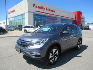 Used 2015 Honda CR-V Touring, LOADED! LOW KMS! for sale in Brampton, ON