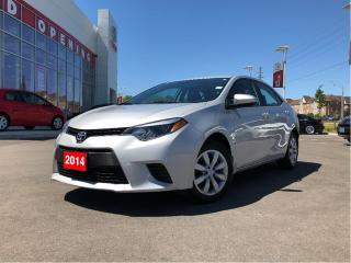 Used 2014 Toyota Corolla LE for sale in Pickering, ON