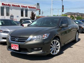 Used 2014 Honda Accord Sedan Touring - Leather - Navigation for sale in Mississauga, ON