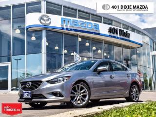 Used 2015 Mazda MAZDA6 GT, 1.9% AVAILABLE, NO ACCIDENTS for sale in Mississauga, ON