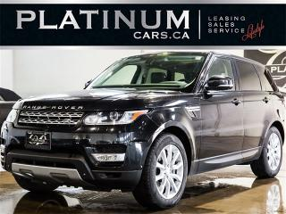 Used 2014 Land Rover Range Rover Sport SUPERCHARGED V8, NAVI, PANO, CAM, BLINDSPOT for sale in North York, ON