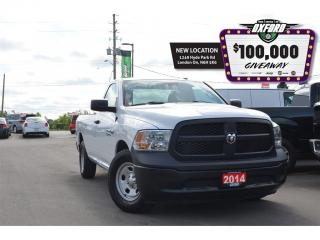 Used 2014 RAM 1500 ST - 5.7L HEMI, 4x2, Trailer Hitch, Bedliner for sale in London, ON
