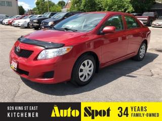 Used 2009 Toyota Corolla CE/MINT CAR/PRICED FOR A QUICK SALE ! for sale in Kitchener, ON