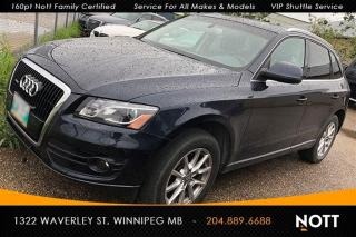 Used 2012 Audi Q5 3.2 Premium Plus V6 Nav Pano R for sale in Winnipeg, MB