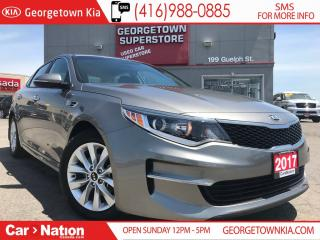 Used 2017 Kia Optima LX+ | LOW KM | HTD PWR SEATS | BACK UP CAM for sale in Georgetown, ON