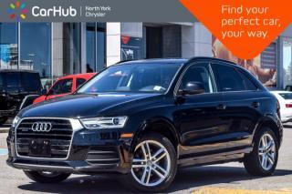Used 2017 Audi Q3 Komfort Quattro Pano_Sunroof Bluetooth SiriusXM for sale in Thornhill, ON