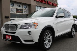 Used 2014 BMW X3 xDrive28i Excutive Pkg. Navigation. Panoramic. Leather for sale in North York, ON