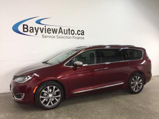 Used 2017 Chrysler Pacifica Limited - REM START! PANOROOF! HTD/AC LTHR! DVD! NAV! for sale in Belleville, ON