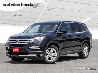 Used 2016 Honda Pilot LX Special of the Week! Bluetooth, Back Up Camera, AWD, Heated Seats and more! for sale in Waterloo, ON