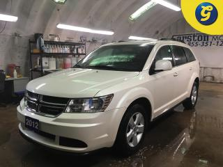Used 2012 Dodge Journey SE PLUS*U CONNECT PHONE*PUSH BUTTON IGNITION*KEYLESS ENTRY*DUAL ZONE CLIMATE CONTROL*CRUISE CONTROL* for sale in Cambridge, ON