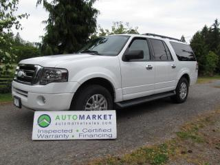 Used 2011 Ford Expedition EL MAX, LEATHER, MOONROOF, INSP, WARR for sale in Surrey, BC