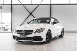 Used 2017 Mercedes-Benz C63 S AMG Cabriolet for sale in Langley, BC
