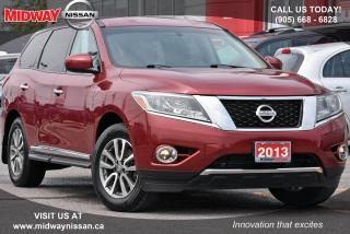 Used 2013 Nissan Pathfinder SL 4WD|Rearview Camera|Leather Heated Seats for sale in Whitby, ON
