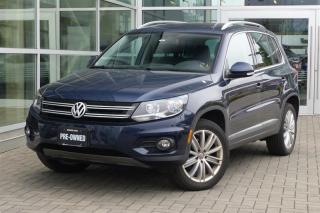 Used 2014 Volkswagen Tiguan Highline 6sp at Tip 4M *Navi* Low Kms* for sale in Vancouver, BC