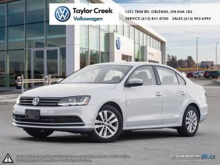 Used 2017 Volkswagen Jetta Wolfsburg Edition 1.4T 6sp at w/Tip for sale in Orleans, ON