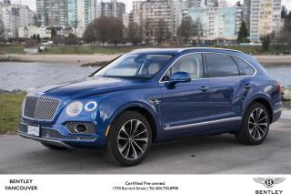 Used 2017 Bentley Bentayga W12 *DEMO SALE for sale in Vancouver, BC