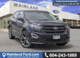 Used 2017 Ford Edge Sport *ACCIDENT FREE* *LOCALLY DRIVEN* for sale in Surrey, BC