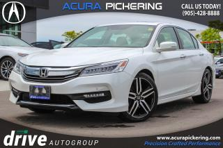 Used 2017 Honda Accord Touring Clean CarProof|Navigation|Honda Sensing Package for sale in Pickering, ON