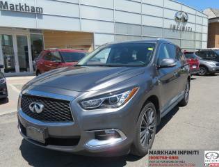 Used 2017 Infiniti QX60 Premium, Touring, Navi ,360 Camera, Pano roof for sale in Unionville, ON
