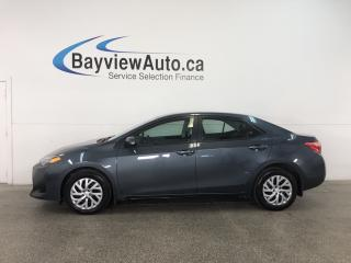Used 2017 Toyota Corolla LE - 1.8L! HEATED SEATS! A/C! REVERSE CAM! LDA! CRUISE! for sale in Belleville, ON