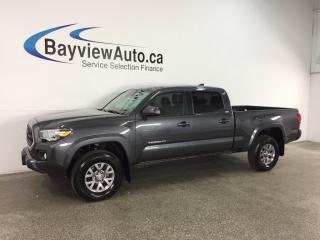 Used 2018 Toyota Tacoma SR5 - 3.5L! HITCH! HTD SEATS! ECO MODE! LDA! for sale in Belleville, ON