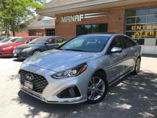 Used 2018 Hyundai Sonata Limited, Sunroof, Rear Cam, Push start, Certified for sale in Concord, ON